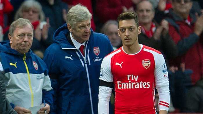 Performa Buruk Saat Latihan, Mesut Ozil Disisihkan dari Arsenal