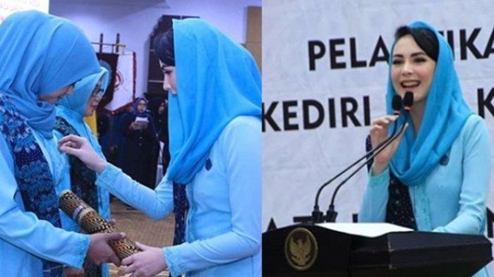 Bagikan Potret Pelantikan Wali Kota Madiun dan Kediri, Arumi Bachsin: Deg-degan, Dengkul Lemes
