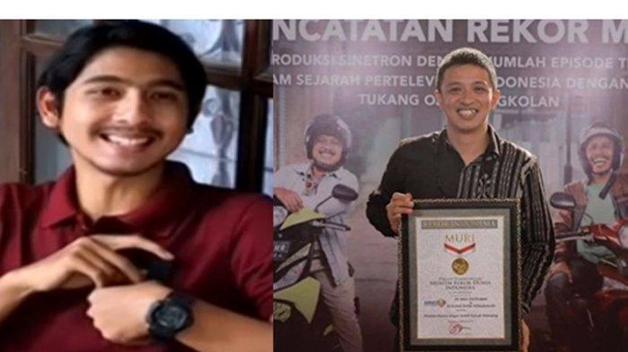 Tukang Ojek Pengkolan Raih Rekor Muri, Arya Saloka yang Pernah Main di TOP Tulis Pesan untuk Ojak