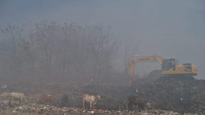 Efek Asap Sisa Kebakaran di TPA Putri Cempo Solo, Anak-anak Terdampak: Pakai Masker Tiap ke Sekolah
