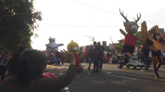 Karang Taruna Jumapolo, Karanganyar, Butuh Waktu Seminggu Selesaikan Maskot Asian Games Raksasa