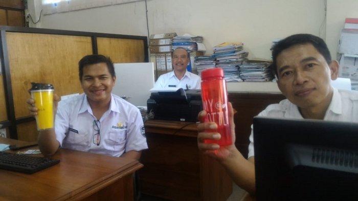 Kampanye Pengurangan Plastik, ASN di Klaten Mulai Pakai Tumbler