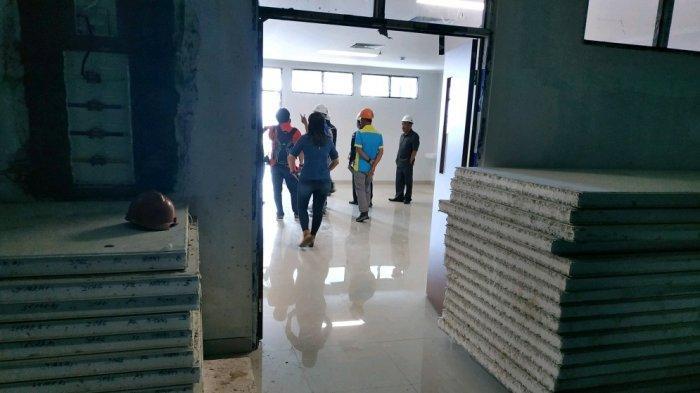 Atap Ruang Operasi RSUD Semanggi Mangkrak Beberapa Bulan, Komisi IV DPRD Solo Desak Kebut Pengerjaan