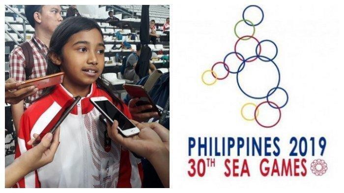 Berusia 10 Tahun, Atlet Termuda Indonesia Kyandra Susanto Raih Medali SEA Games 2019, Simak Kisahnya