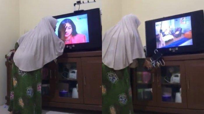 Kesal pada Tokoh Elsa, Emak-emak Pukul TV saat Nonton Ikatan Cinta di RCTI, Begini Ceritanya