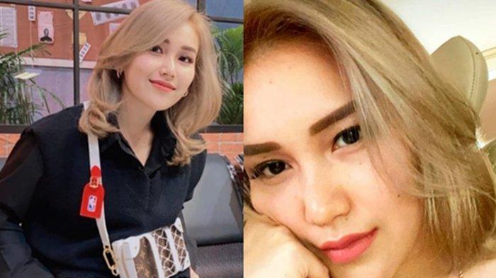 Ayu Ting Ting ubah warna rambut jadi blonde