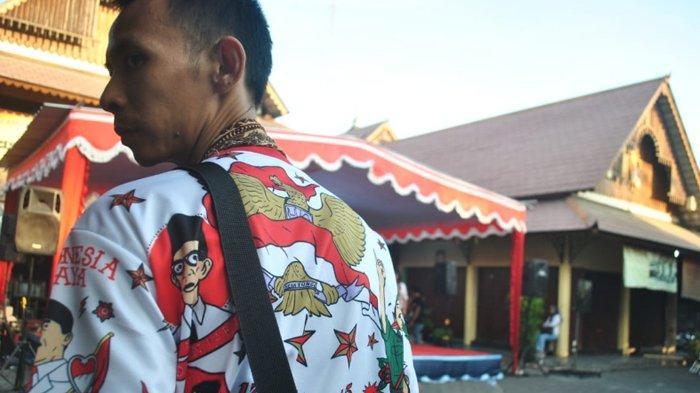 Baju Indonesia Raya ala Gibran Mulai Populer di Solo, Terlihat di Acara Nobar Pelantikan Presiden