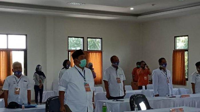 Terpisah dengan One Krisnata, Fajri Hadir Secara Virtual pada Pendaftaran di Kantor KPU Klaten