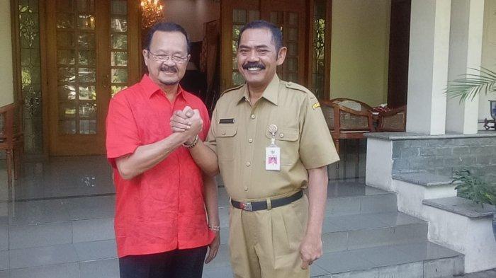 Pengakuan Wali Kota Solo FX Hadi Rudyatmo : Rangkulan dengan Achmad Purnomo yang Positif Corona