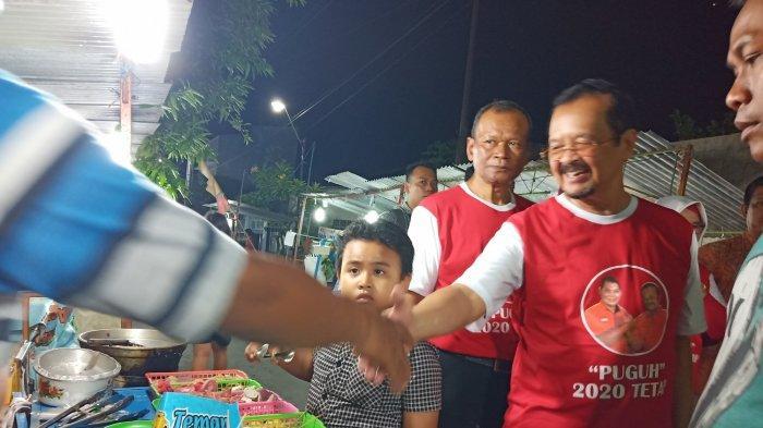 Deklarasi Dukung Purnomo-Teguh Dilakukan Pemuda Warga Sumber Solo di Dekat Rumah Gibran Rakabuming