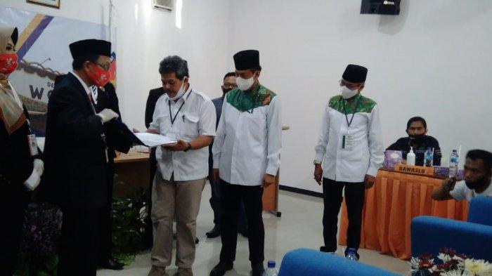 Penantang Petahana Joko Sutopo Daftar ke KPU Wonogiri, Target Bisa Menang 60 Persen