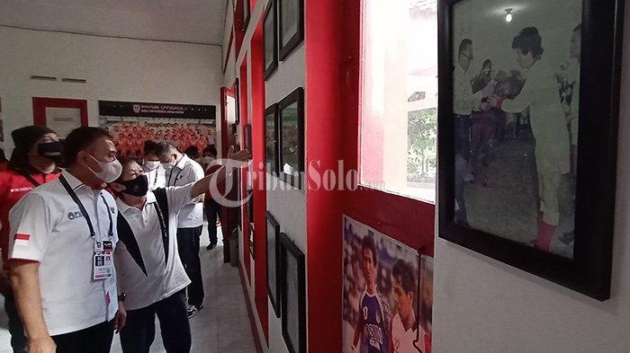 Ulang Tahun PSSI, Iwan Bule Kunjungi Balai Persis, Dorong Soeratin Jadi Pahlawan Nasional
