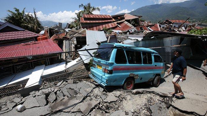 Perumnas Balaroa Amblas 20 Meter, Ratusan Warga Diperkirakan Masih Tertimbun dan Belum Dievakuasi