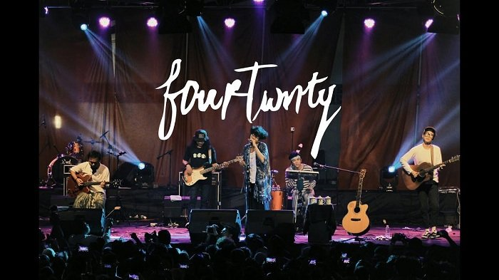 Chord Kunci Gitar dan Lirik Lagu Fana Merah Jambu - Fourtwnty, Menarilah Denganku