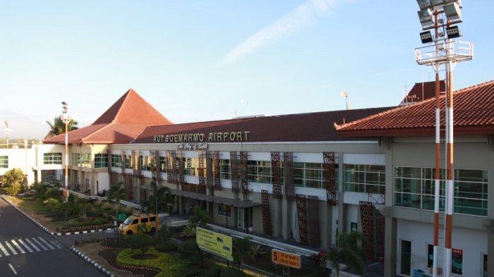 Hujan Abu Merapi Guyur Boyolali, Bandara Adi Soemarmo Ditutup Sementara