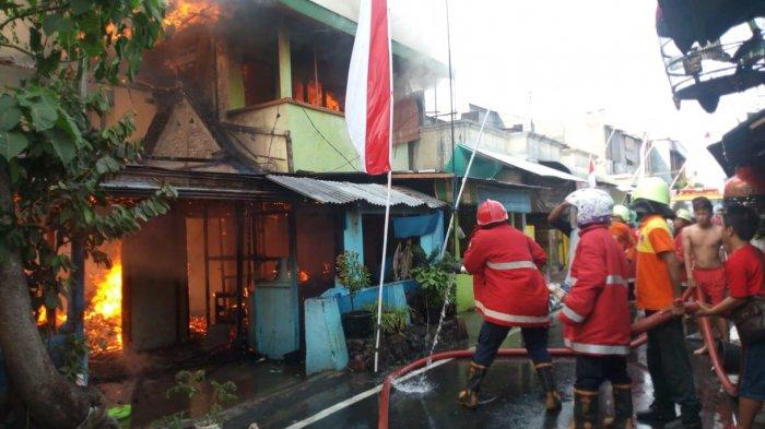 Kebakaran Landa Sebuah Rumah di Cinderejo Lor Gilingan Solo