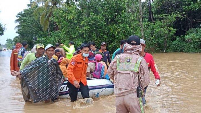 Banjir di Kalsel Mulai Surut, 49 Ribu Jiwa Masih Mengungsi, 3 Kabupaten Masih Tergenang Banjir