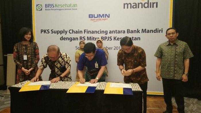 Bank Mandiri Kucurkan Rp 126 miliar untuk Dukung Program JKN-KIS