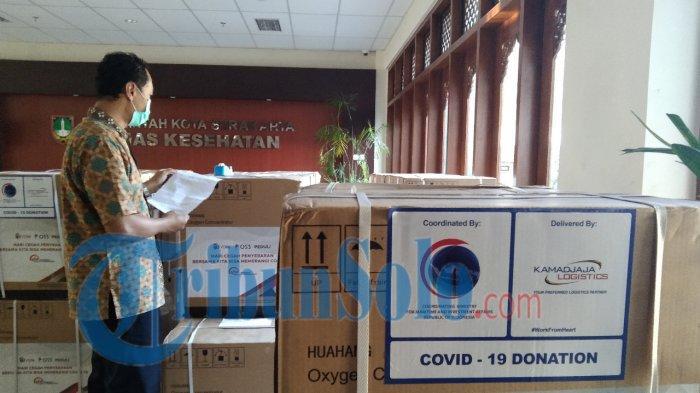 Bantuan Oksigen di Kota Solo Lancar Jaya, Kini dapat Kiriman dari Menko Luhut