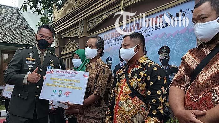 HUT ke-76 TNI : 10 Rumah Tak Layak Huni di Solo Bakal di Bangun Korem, Telan Anggaran Rp 200 Juta