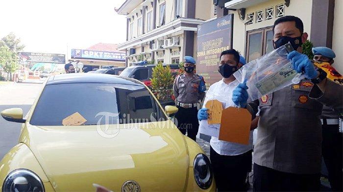 ABG Pengemudi VW Kuning yang Tabrak Polisi di Prambanan Dijerat Dua Pasal : Lawan Petugas & Hukum