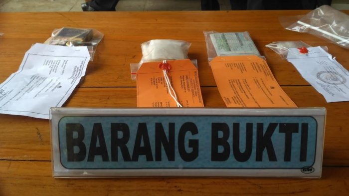 Selama Maret, 8 Orang Nekat Edarkan 970 Obat-obatan Terlarang dan Sabu Ditangkap Polisi Sragen