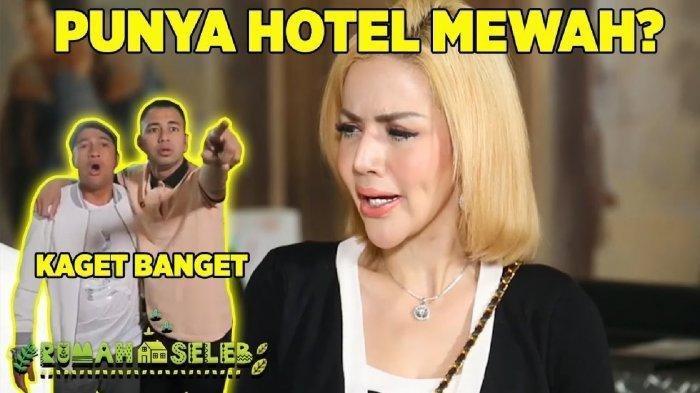 Raffi Ahmad Sempat Tak Percaya SaatBarbie Kumalasari Pamerkan Hotel Mewahnya