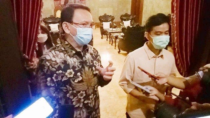 Blak-blakan Gibran Bahas Kepemimpinan, saat Ditemui Ahok Mantan Pendamping Jokowi di DKI Jakarta