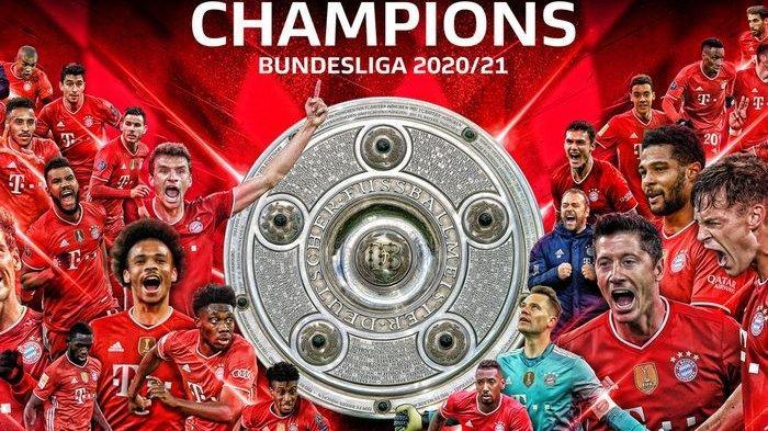 Bayern Muenchen Juara Bundesliga 9 Kali Beruntun : Hajar Moenchengladbach 6-0, Hattrick ke-3 Lewa