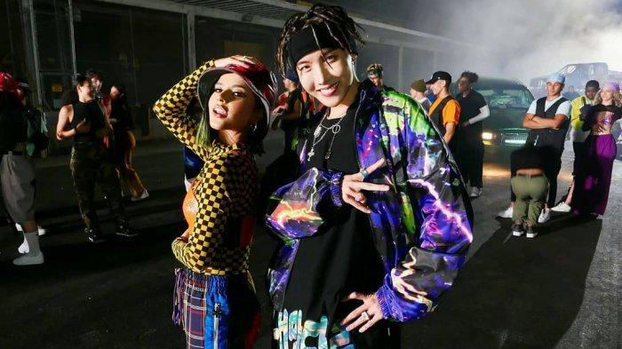 Lagu Solo J-Hope BTS 'Chicken Noodle Soup' feat Becky G Rajai iTunes di Dunia Hanya dalam 24 Jam