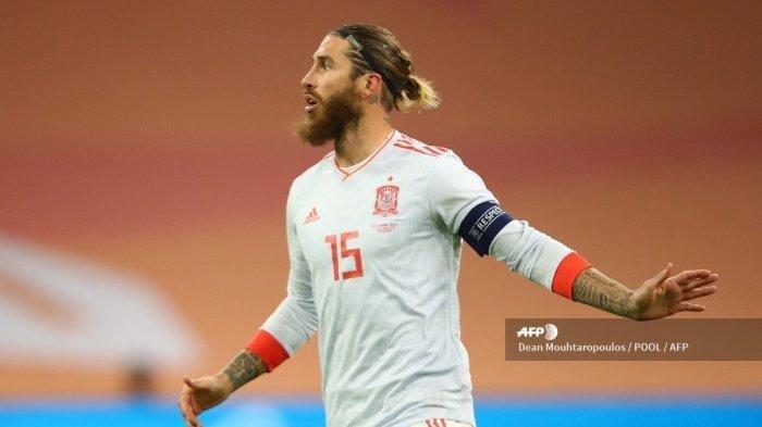 Timnas Spanyol Panggil 5 Pemain Baru, Sergio Ramos Tetap Tak Masuk Dalam Skuad Luis Enrique