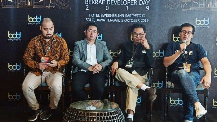 Dorong Developer Tanah Air Bersaing di Internasional, Gembleng Lewat Bekraf Developer Day di Solo