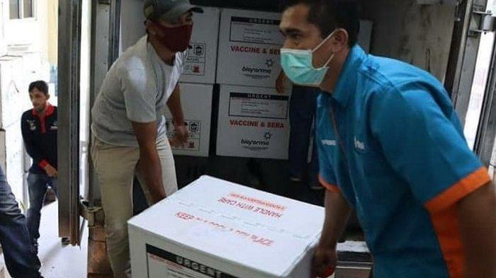 12 Ribu Dosis Vaksin Sinovac Tiba di Sukoharjo, Nakes Tetap Didahulukan untuk Suntikan Kedua