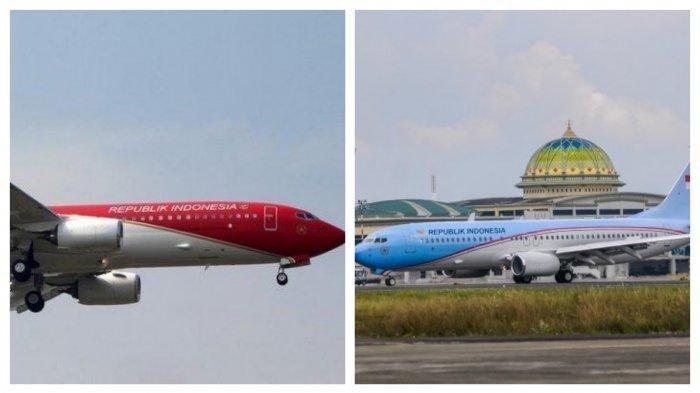Pesawat Kepresidenan - Berikut fakta-fakta soal pengecatan merah putih pada pesawat kepresidenan RI yang tuai kritikan, sudah direncanakan sejak 2019.