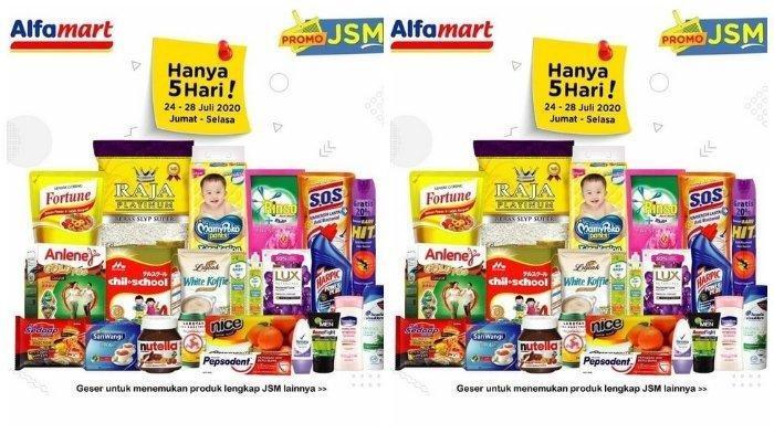 Daftar Promo Alfamart Hari Ini, Berlaku 24-28 Juli: Diskon Minyak Goreng hingga Beras