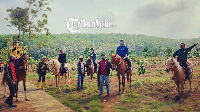 Di Polokarto Sukoharjo, Ada Lokasi Wisata Berkuda di Hutan: Bisa Sambil Minum Jamu