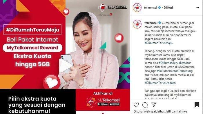Nikmati Promo Paket Internet Telkomsel, Ada Paket Murah Rp 2500 hingga Dapatkan Gratis Kuota 5GB