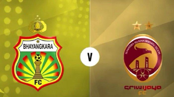 Link Live Streaming Liga 1 Indonesia: Bhayangkara FC Vs Sriwijaya FC di Tv One Pukul 15.30 WIB