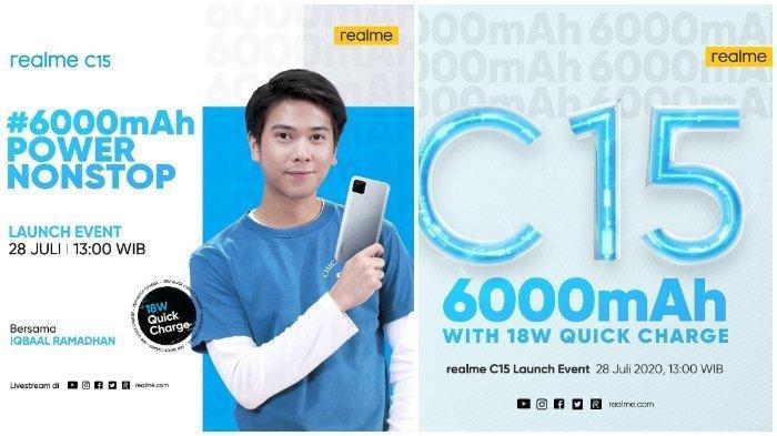 Harga HP Realme C15 Terbaru Agustus 2020, Dijual Mulai Rp 2 Jutaan dan Ini Spesifikasinya