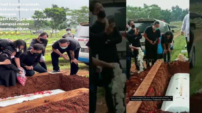 Tangis Vincent Rompies Pecah di Pemakaman Ayahnya, Kenang Pesan Terakhir Almarhum