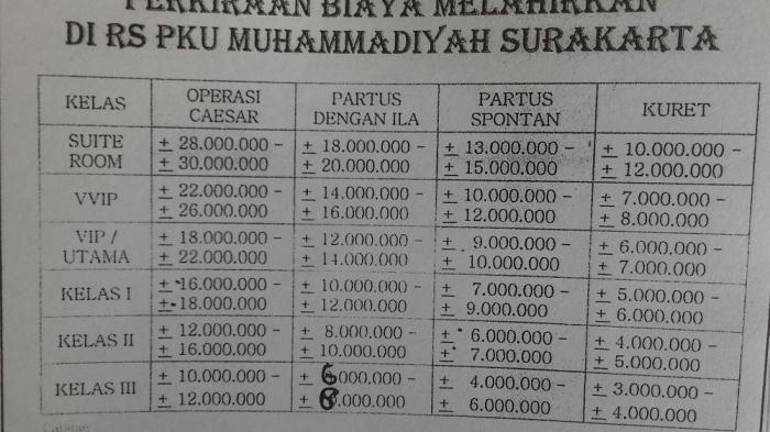 Cucu Jokowi, Jan Ethes Lahir di Rumah Sakit Ini. Cek Biaya ...