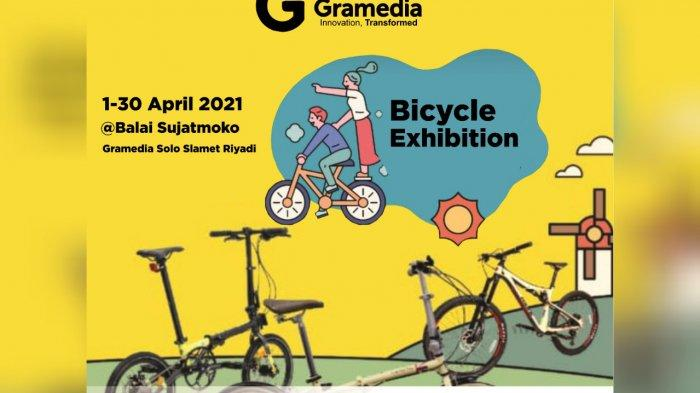 Ajak Masyarakat Solo Rajin Berolahraga, Gramedia Slamet Riyadi Solo Adakan Bicyle Exhibition