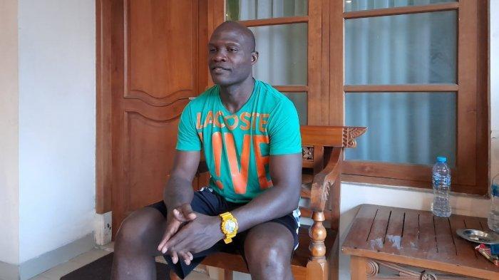 Bintang Persis Solo, Bruno Casmir saat ditemui TribunSolo.com di Malioboro Inn Hotel, Jalan Dr Radjiman, Kecamatan Laweyan, Kota Solo, Kamis (24/9/2020).