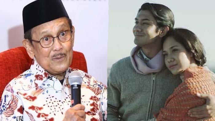 Reza Rahadian dan Bunga Citra Lestari Tak Kuasa Menahan Tangis saat Melayat ke Rumah Duka BJ Habibie