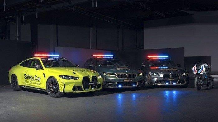 Begini Penampakan Mobil dan Motor BMW Baru untuk Safety Car MotoGP, Ada BMW M8, X5, dan M 1000 R