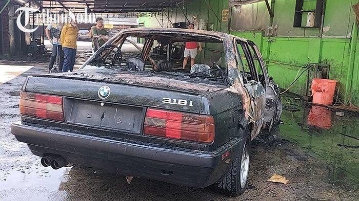 Kesaksian Pengendara Mobil BMW 319i yang Terbakar di Solo: Ada Suara Ledakan Dua Kali