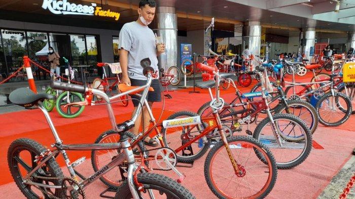 Koleksi Langka BMX Dipamerkan di Hartono Mall Solobaru, Harganya Bisa Tembus Rp 100 Juta