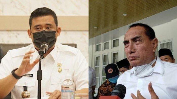 Terjadi Lagi, Bobby Menantu Jokowi vs Gubernur Edy : Dulu soal Karantina, Kini Sekolah Tatap Muka