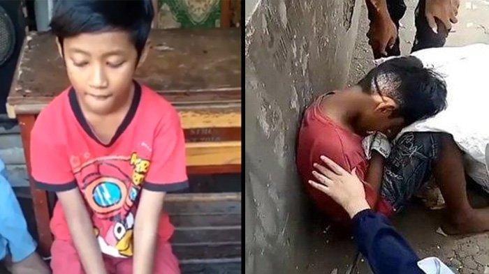 Viral Video Bocah Pemulung yang Dikira Meninggal Karena Kelaparan, Begini Cerita Sebenarnya
