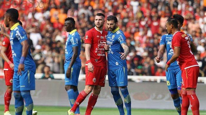 Soal Rating Televisi Liga 1, Persib Bandung Lebih Unggul Ketimbang Persija Jakarta
